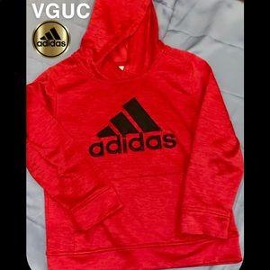 Adidas Boys Hooded Sweatshirt